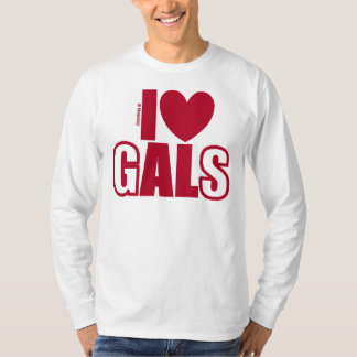 I Love Alabama Gals by itbepoetry T-Shirt