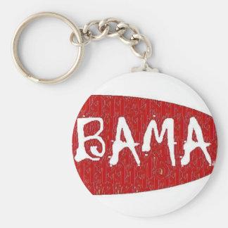 I Love Alabama Keychain by:da'vy