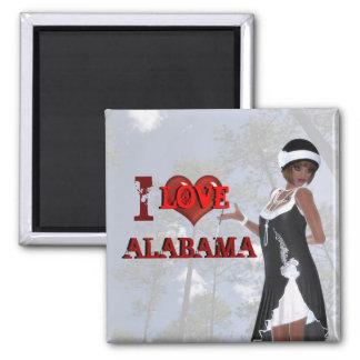 I Love Alabama Magnet