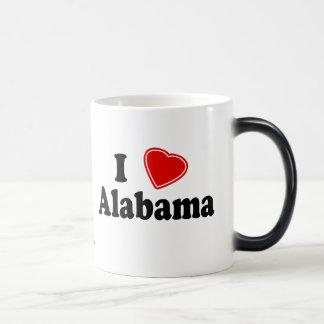 I Love Alabama Morphing Mug