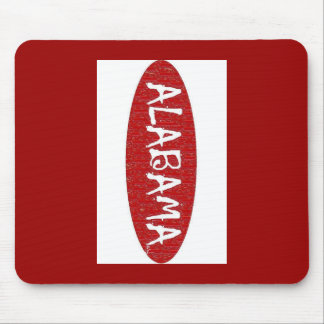 I Love Alabama  Mouse Pad by:da'vy