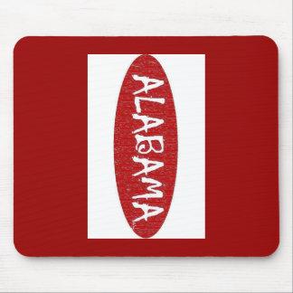 I Love Alabama  Mouse Pad by:da'vy