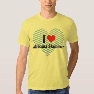 I Love Alabama Slammer Tees
