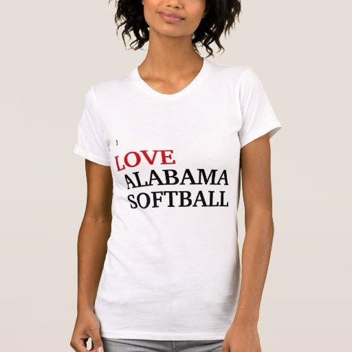 I love Alabama softball T-shirts