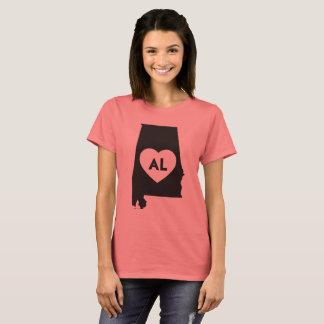 I Love Alabama State Women's Basic T-Shirt