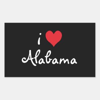 I Love Alabama Sticker