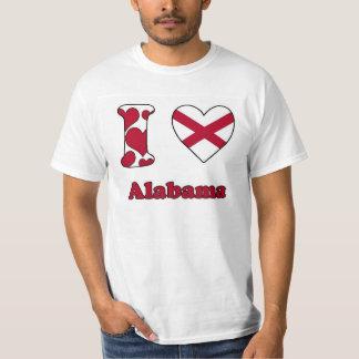 I love Alabama T Shirts