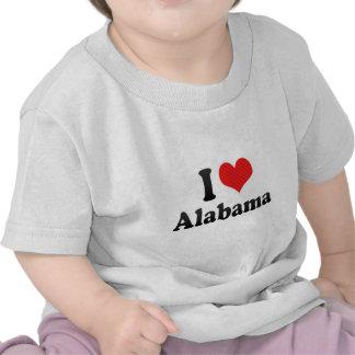 I Love Alabama Shirts