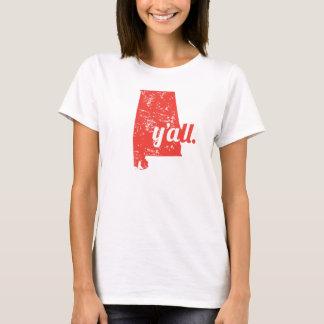 I love Alabama, y'all! T-Shirt