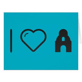 I Love Alamo Big Greeting Card