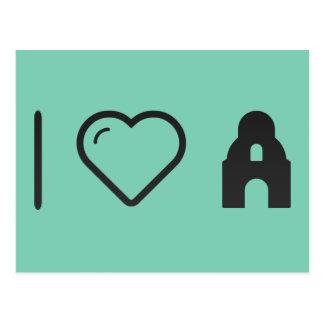 I Love Alamo Postcard
