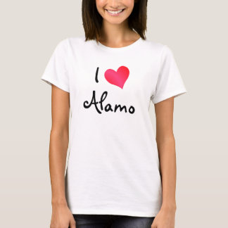 I Love Alamo T-Shirt