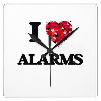 I Love Alarms Clocks