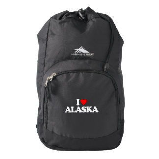 I LOVE ALASKA BACKPACK