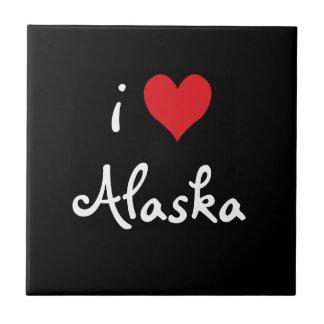 I Love Alaska Tile