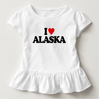 I LOVE ALASKA TODDLER T-Shirt
