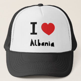 I love Albania Trucker Hat