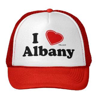 I Love Albany Cap