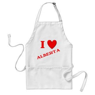 I Love Alberta Aprons