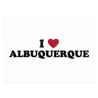 I Love Albuquerque New Mexico Post Card