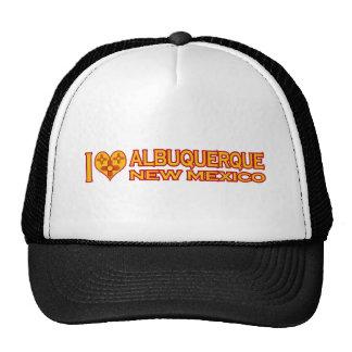 I Love Albuquerque, NM Mesh Hat