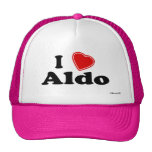 I Love Aldo Hats