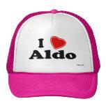 I Love Aldo Trucker Hat