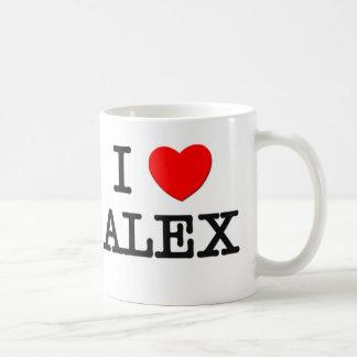 I Love Alex Coffee Mug