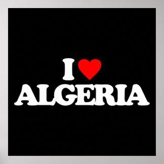 I LOVE ALGERIA POSTERS