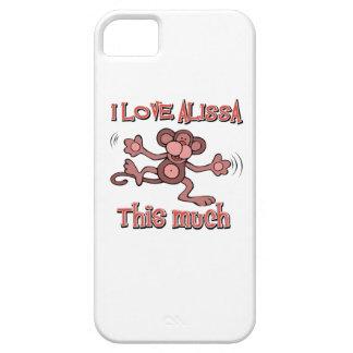I Love alissa iPhone 5 Case
