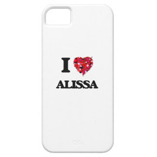 I Love Alissa iPhone 5 Cases