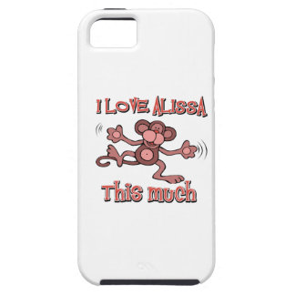 I Love alissa iPhone 5/5S Cover