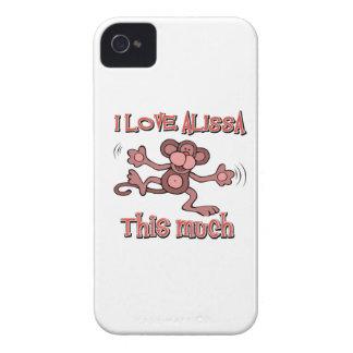 I Love alissa iPhone 4 Case-Mate Cases