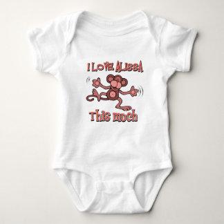 I Love alissa Infant Creeper