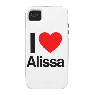 i love alissa iPhone 4/4S covers