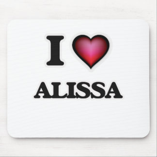 I Love Alissa Mouse Pad