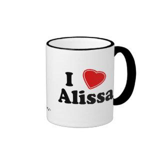 I Love Alissa Ringer Mug