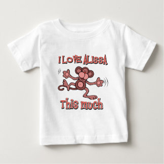 I Love alissa T Shirts