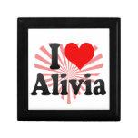 I love Alivia Gift Box