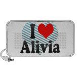 I love Alivia iPod Speakers