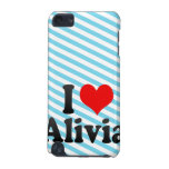 I love Alivia iPod Touch 5G Covers
