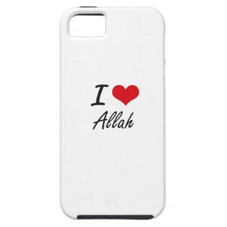 I Love Allah Artistic Design iPhone 5 Cases