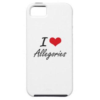 I Love Allegories Artistic Design iPhone 5 Covers