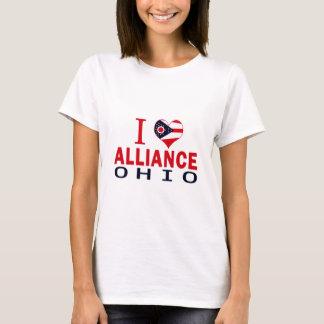 I love Alliance, Ohio T-Shirt