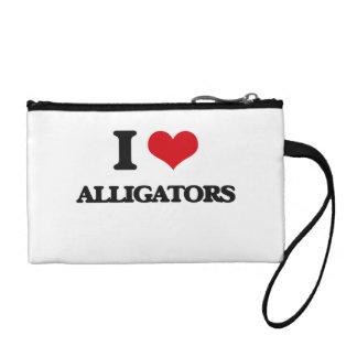 I love Alligators Coin Wallets