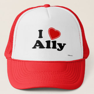 I Love Ally Trucker Hat