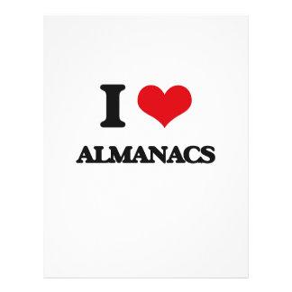 I Love Almanacs Flyer