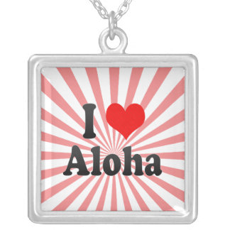I Love Aloha United States Jewelry