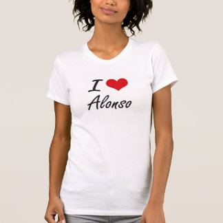 I Love Alonso T Shirts