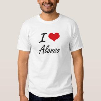 I Love Alonso Tshirt